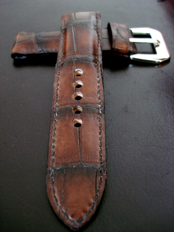 New Review of Dangerous9straps' Super Premium Swiss Hides American Alligator strap on Paneraisource.com