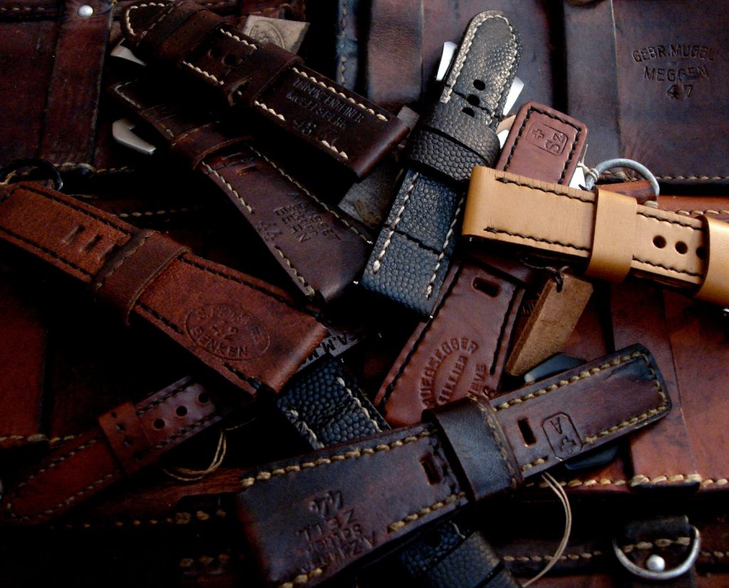 Combined 675 years of Swiss, German and French Ammo straps