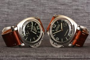 Swiss Ammo straps on Panerai PAM233 and PAM217