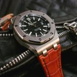 Custom Dyed Orange Alligator for Audemars Piguet Diver