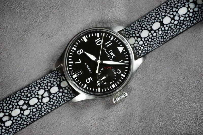 Ingo's Row Stone Stingray for IWC Big Pilot