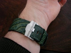 Meauring your wrist for a custom watch strap