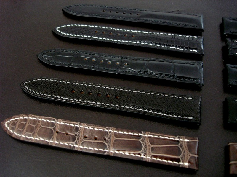 20mm Watch straps in stock from our  Handmade Manufacture Collection