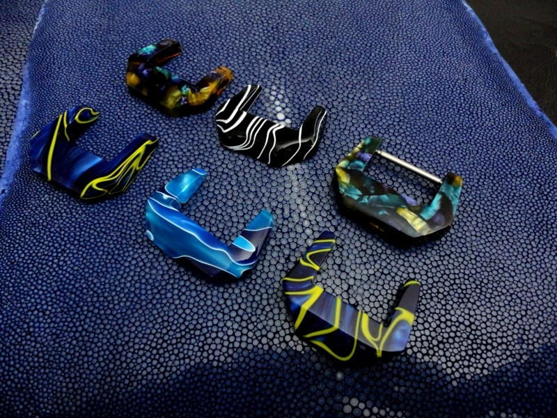 Newly Arrived - 6 Polymer Buckles from FineWatchBuckles