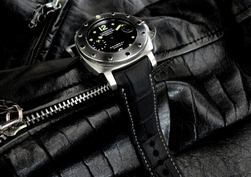 SuperMatte Alligator for Panerai with our exclusive TCLS Available for Immediate Purchase