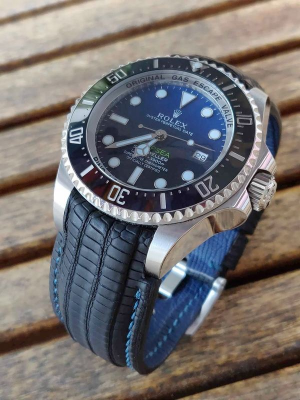 Great Photos form Vincenzo of his James Cameron Rolex Sea Dweller Deep Sea D-Blue