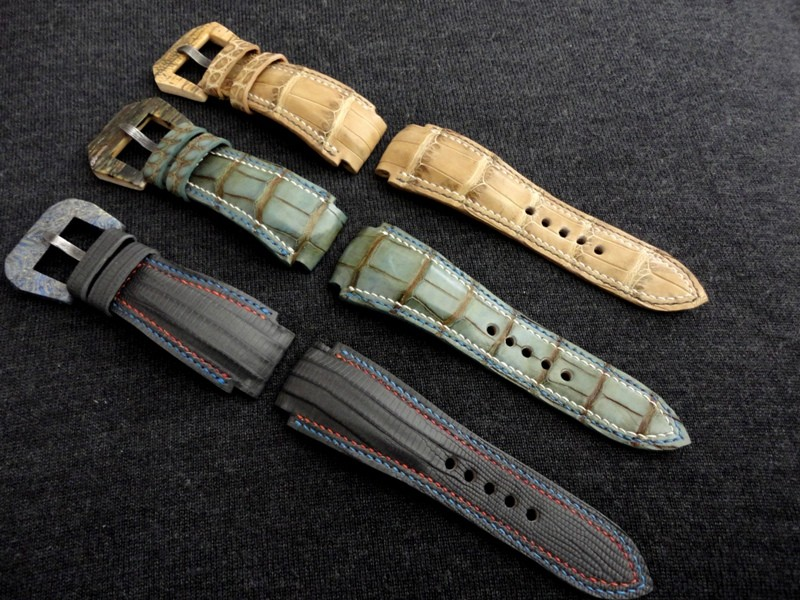 Batches - Bespoke Handmade Watch Straps for PAM526