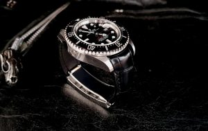 Rolex Sea Dweller on Black Alligator