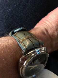 Alligator strap on Panerai
