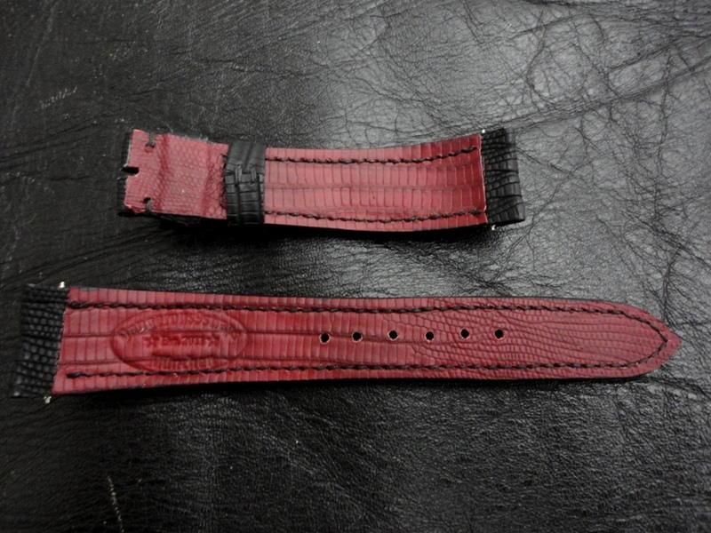 Maroon SuperMatte Teju Lizard skins