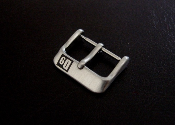 'D9' Buckles for Custom Watch Straps - Brushed Pin Buckle