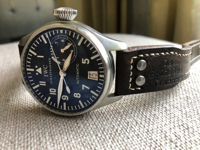 Mike's IWC Big Pilot on 1962 Swiss Ammo strap
