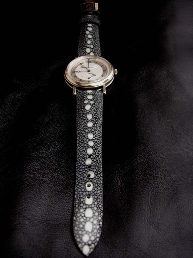 Black Row Stone Stingray for Breguet