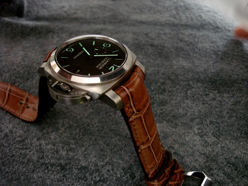 Panerai strap with our TCLS upgade