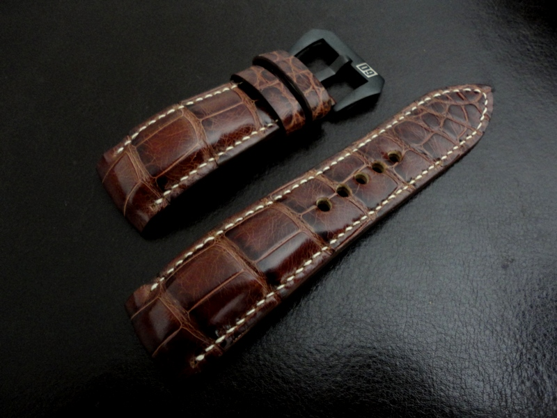 Straps made From Vin du Vieux-Port Alligator