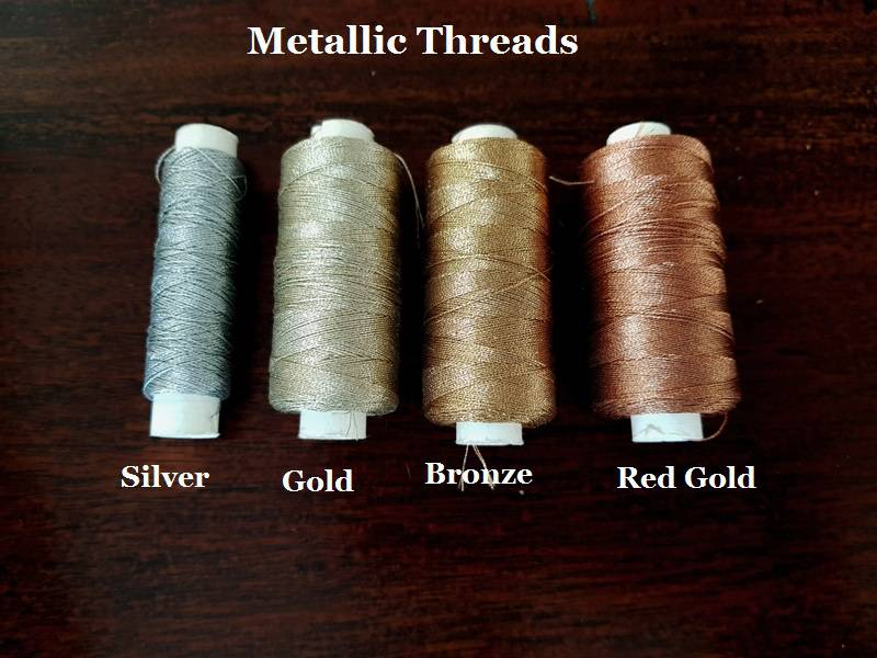 Metallic Thread Options for Your Custom Strap