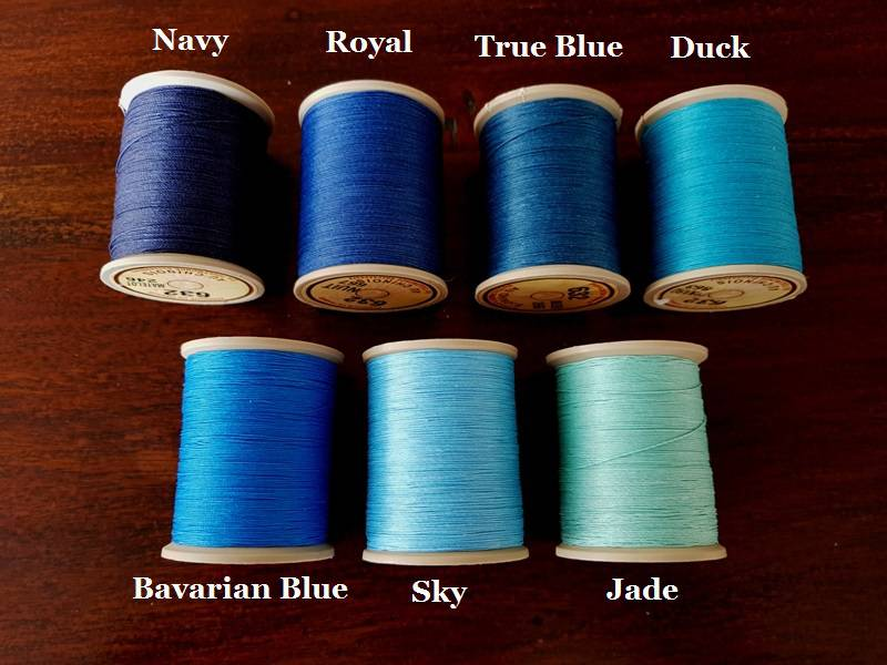 Selection of Blue Threads