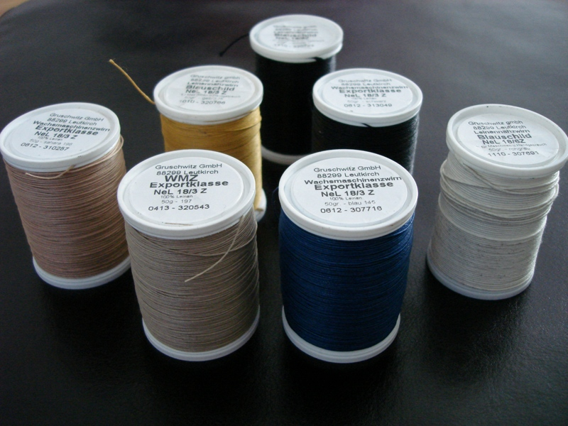 Selection of German Milled Linen threads