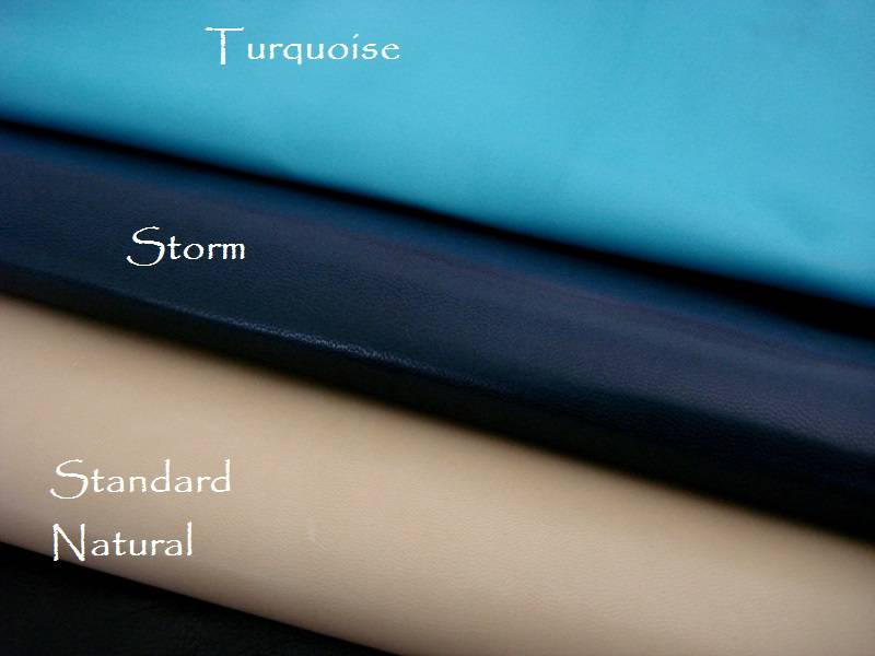 Kidskin watch strap Lining leather Colors: Turquoise, Storm, Standard Natural