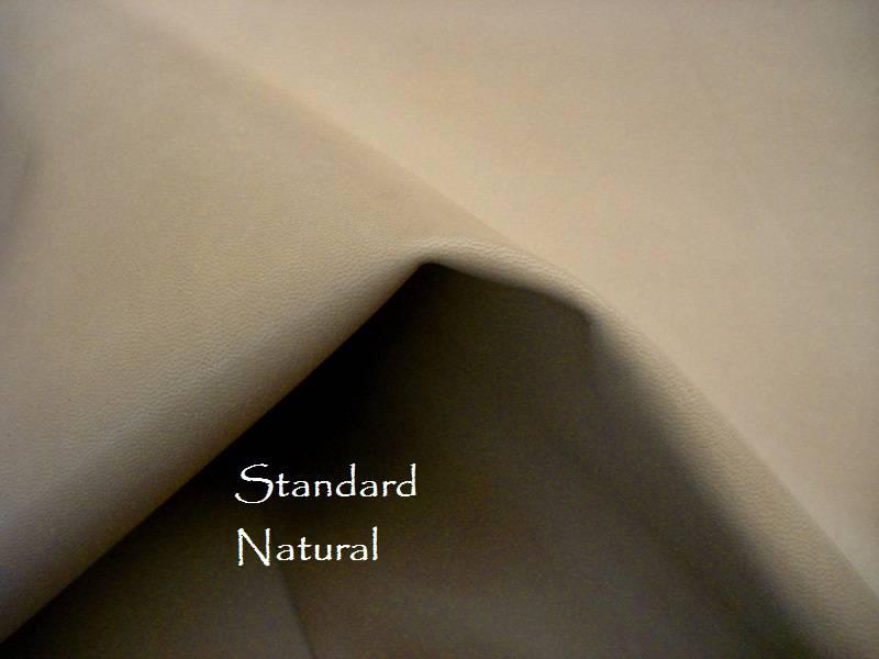 Our standard lining is a natural light Tan/beige Kidskin