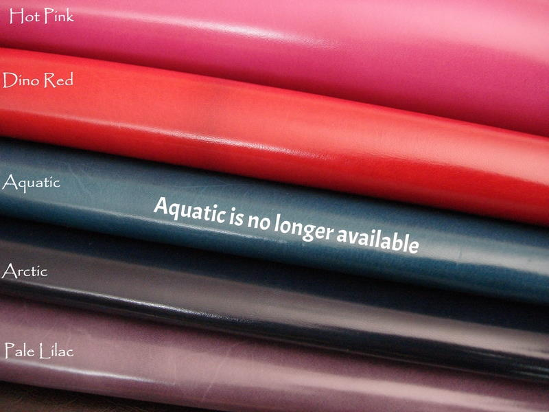 Kidskin watch strap Lining leather Color: Hot Pink, Dino Red, Arctic, Pale Lilac