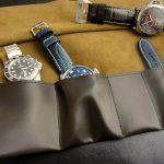 Watch and Strap Travel Rolls Available in 9 Beautiful Color Combinations!!