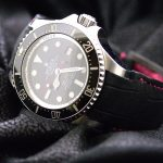 Martinique-Bleu-Alligator-strap-for-Rolex-Submariner