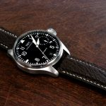 Jurassic-Chocolate-African-Goat-Leather-Watch-Strap-for-iwc-big-pilot-5