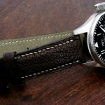 Jurassic-Chocolate-African-Goat-Leather-Watch-Strap-for-iwc-big-pilot-4