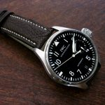 Jurassic-Chocolate-African-Goat-Leather-Watch-Strap-for-iwc-big-pilot-2
