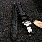 'Million-Dollar-Black'-Alligator-Watch-Strap-for-IWC-Big-Pilot