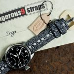 Black-Row-Stone-Stingray-watch-strap-for-IWC-Big-Pilot-2