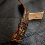 Zanzibar African Goat leather watch strap for IWC Big Pilot