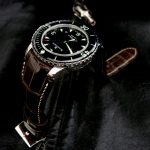 Custom-Tourbe-Brune-Alligator-Watch-Strap-for-Blancpain-Fifty-Fathoms-with-Fully-Integrated-Fit