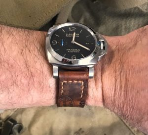 Derek's PAM1312 on 1938 Swiss Ammo strap