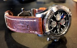 Chris's Breitling Super Avenger on Swiss Ammo strap