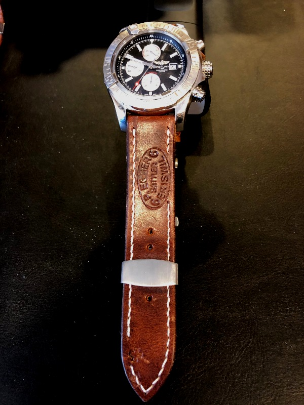Breitling Super Avenger on Swiss Ammo strap