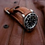 1965 Swiss Ammo strap for Rolex Sub with Integrated fit