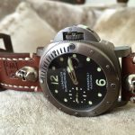 Swiss Ammo strap for Panerai with Skull Rivets