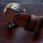 1910 Swiss Ammo strap for Kaventsmann Bronze watch
