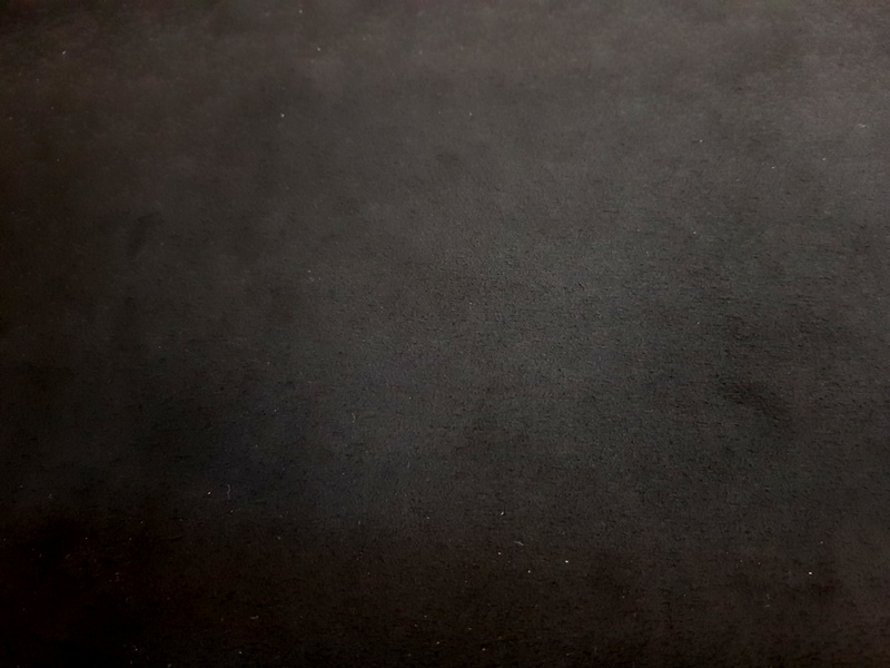 Deep Black - Alcantara Luxury Suede-Like MicroFiber Linings