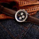 Zanzibar African Goat leather strap for Breitling Navitimer