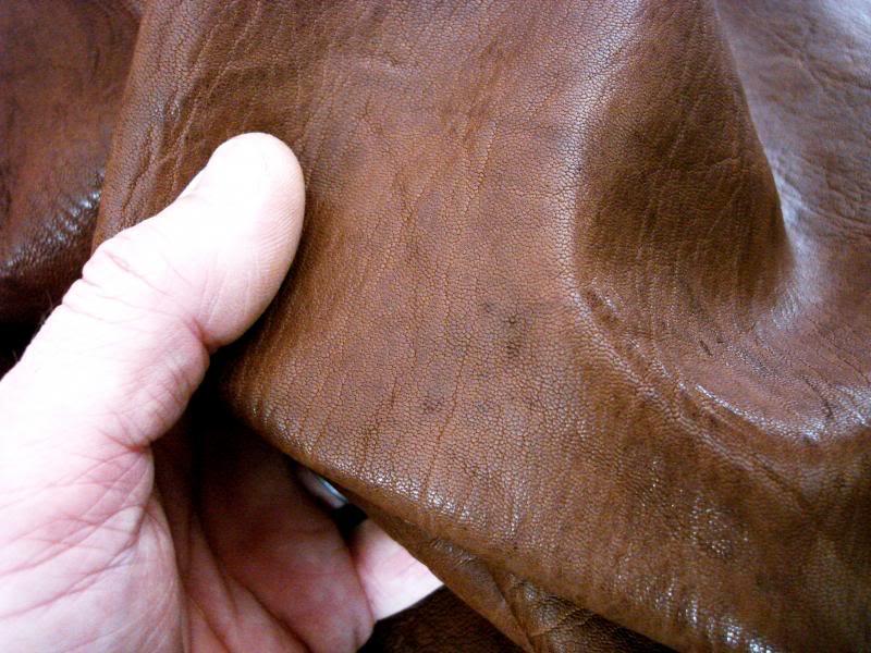 Sahara Tan African Goat Leather - Safari Collection
