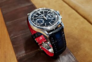 Patek 5170P on custom Racing Black Alligator strap