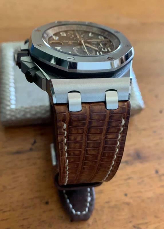 Custom Watch Strap for Audemars Piguet ROOS