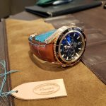 Lar's Gold Planet Ocean Chronograph on Vintage Cognac Alligator