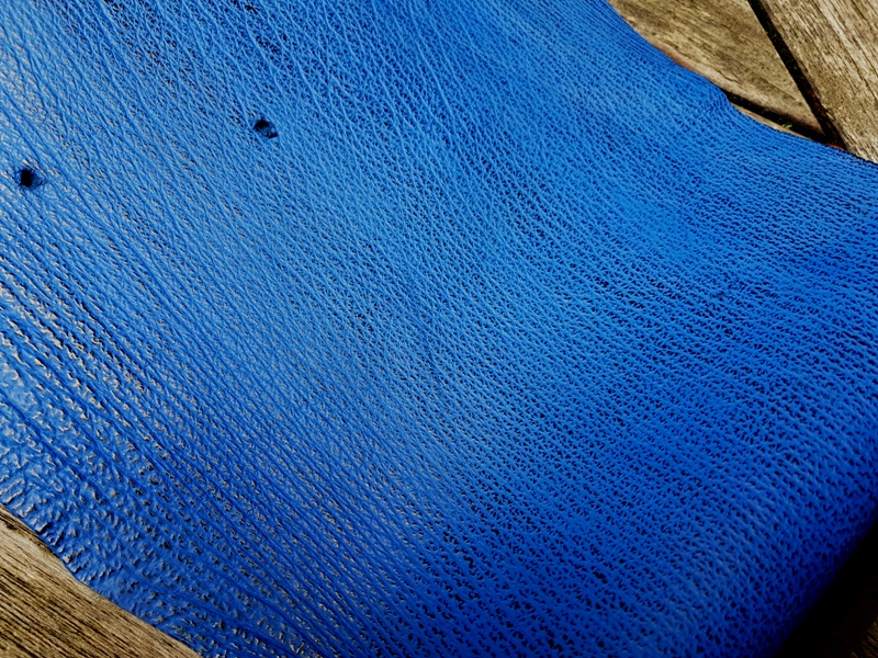 Cobalt Blue - Newly Arrived Sharkskin Leathers for Your Custom Strap Pleasure