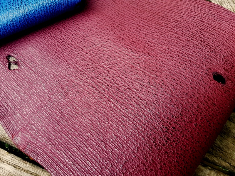 Newly Arrived Sharkskin Leathers for Your Custom Strap Pleasure
