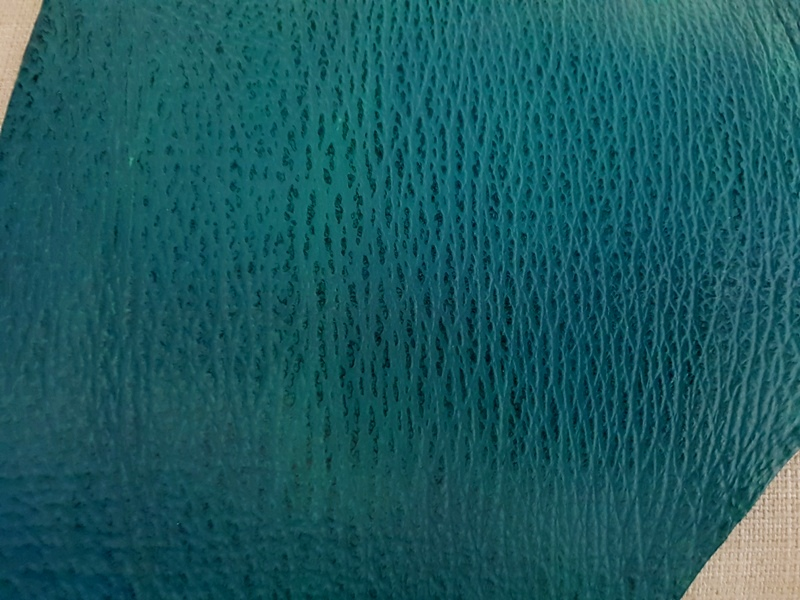 Ocean Blue Two-tone Sharkskin - Newly Arrived Sharkskin Leathers