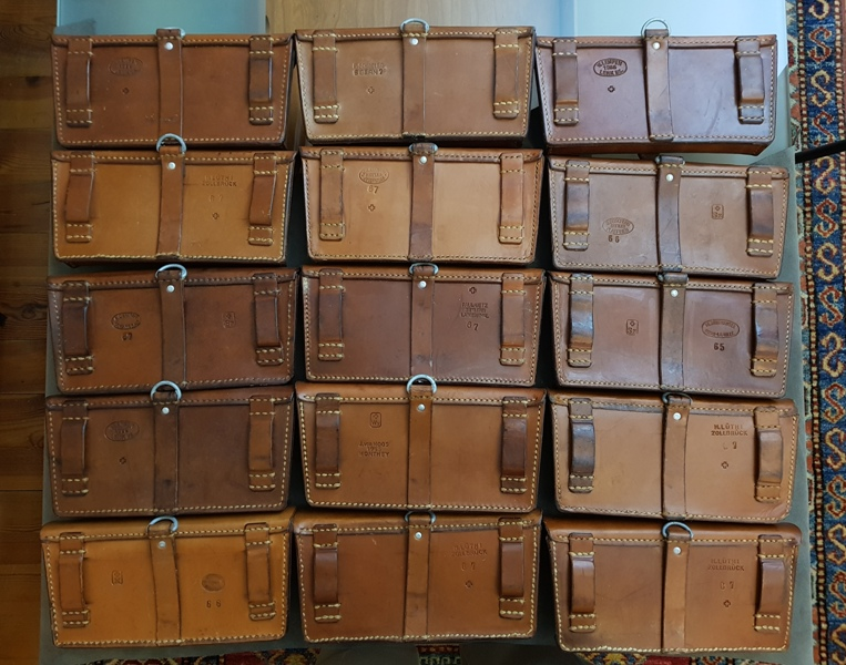 Newly Arrived 1960s Swiss Ammo Pouches for your Custom Watch Strap Pleasure!